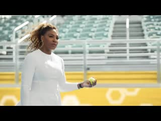 Serena williams- bumble commercial