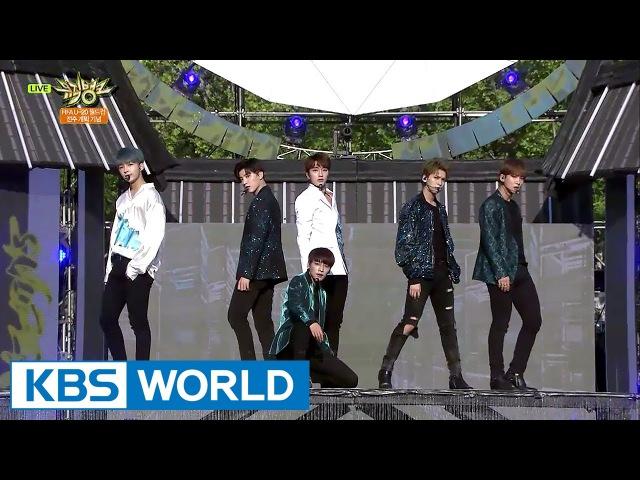 SNUPER - Back:Hug | 스누퍼 - 백허그 [Music Bank / 2017.05.19]