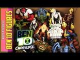 Box full of Toys Ben 10 Action Figures Collection Alien Character Omniverse Ultimate Alien Reboot