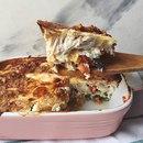 Очень вкусная куриная запеканка с овощами: идеальна для обеда и ужина!