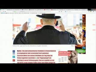 1453 antisemitische Straftaten VS 1137 Morde von Ausländern
