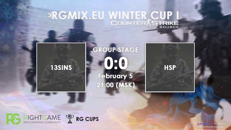 RGMIX.eu Winter Cup 1 [13SINS vs HSP] Group В