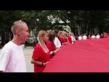 В Выборге отметили День российского флага