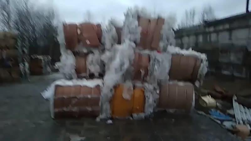 Переработка мусора в плитку. Северодвинск