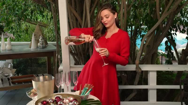 Celebrating the Holidays with Miranda Kerr