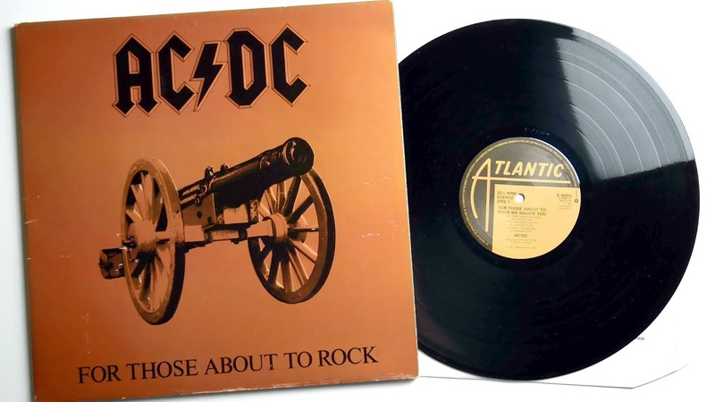 Vinyl unboxing AC/DC - For Those About To Rock We Salute You