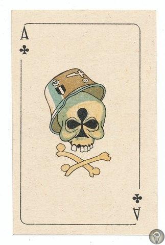 ИГРАЛЬНЫЕ КАРТЫ ИЗ БЛОКАДНОГО ЛЕНИНГРАДА! Эти карты были выпущены в 1942 году в блокадном Ленинграде тиражом в 700 колод. Автор рисунков - художник В. А. Власов. Еще в предвоенные годы 7-м