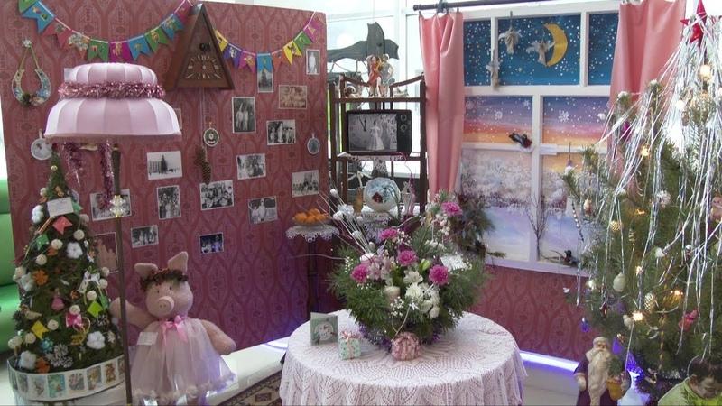 В Новом Осколе прошла выставка творческих работ Зимняя фантазия