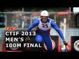 CTIF Mulhouse 2013 100m obstacles final run Lidmila Langer Vrablik Gasek