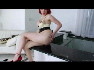 Sarina Valentina (shemale, trans, trap, masturbation, anal, solo) // https://vk.com/trapz317