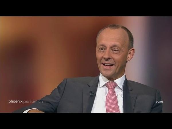 Friedrich Merz (CDU) gegen Merkel und Trump   Phoenix Persönlich Rede