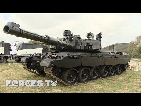 'Black Night': Could This Upgraded Challenger 2 Battle Tank Transform Warfare? | Forces TV