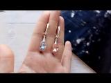 Нежные оттенки кристаллов для модели