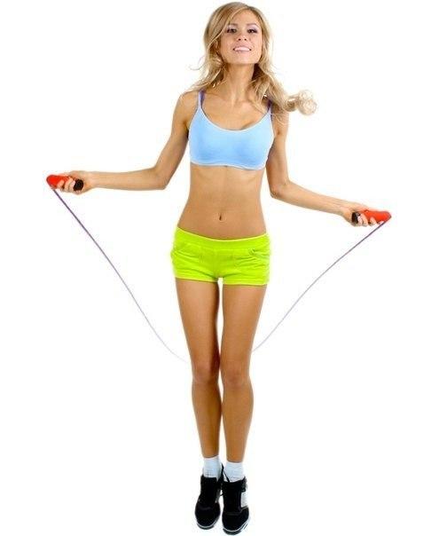 Упражнения с скакалкой для похудения видео