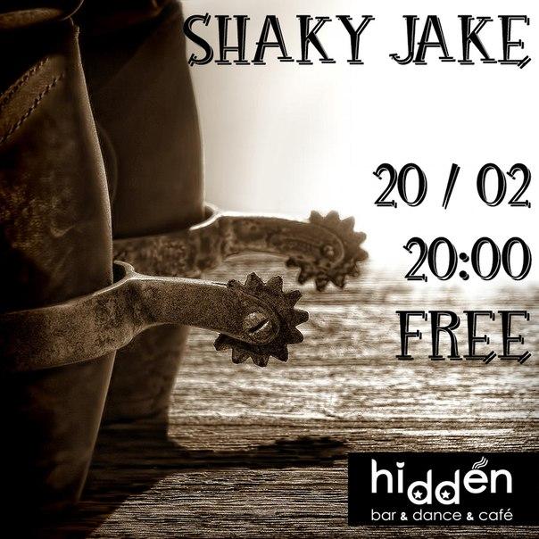 20.02 Shaky Jake в Hidden Bar