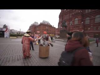 Баба Яга на гироступе :)