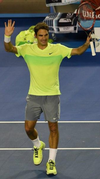 Федерер победа в Дубай