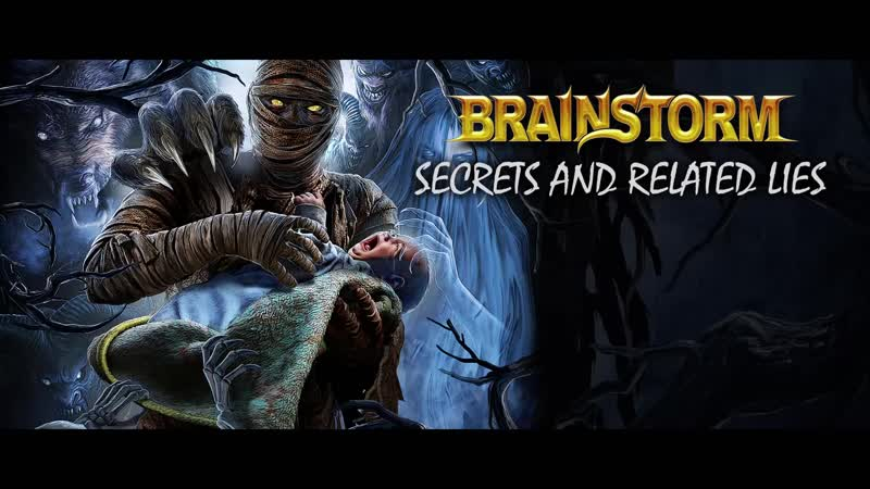 BRAINSTORM - Secrets And Related Lies (2019) __ Official Audio Video __ AFM Records