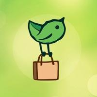 Логотип Eco-Store - Сеть магазинов правильного питания