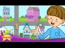 Where is the restaurant?(Asking the way) - English song for Kids - Let's sing - Sing Along