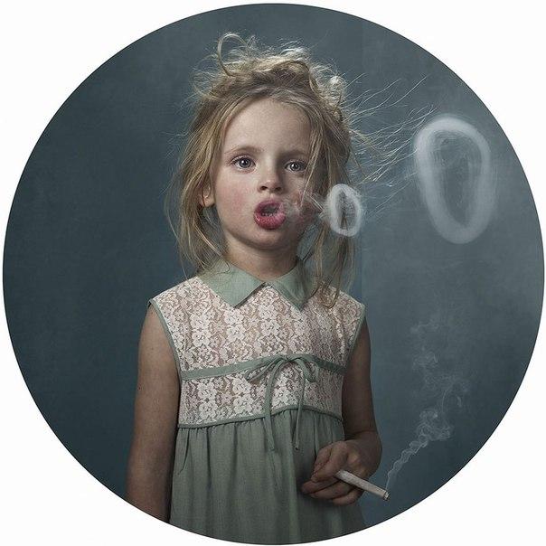 Френк Янсенс. Курящие дети.
