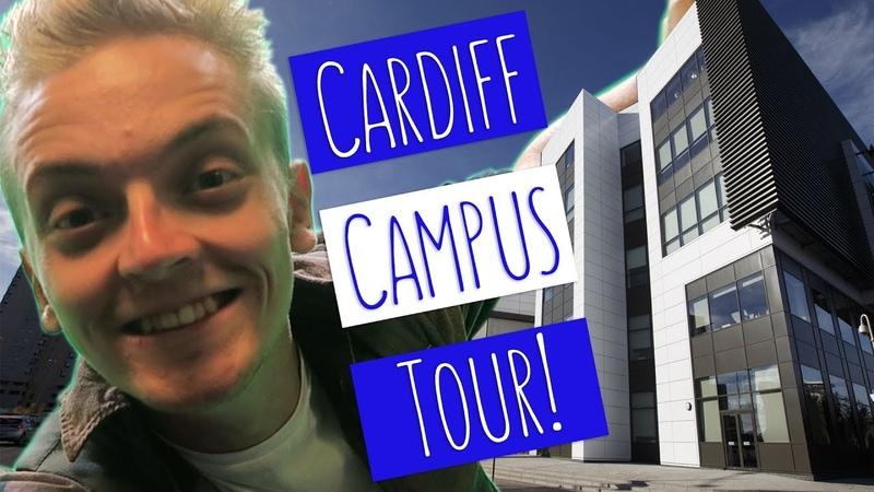 CARDIFF CAMPUS TOUR! | Tom takes you on a tour of USW Cardiff