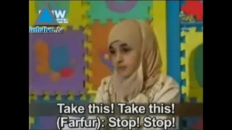 Палестинская мышь Фарфур в еврейском посольстве (Детское Палестинское TV)