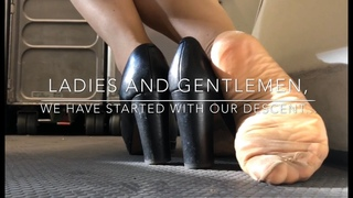 """TEASER Patreon """"We Have Started With Our Descent..."""" Full Version 14min ShoePlay"""