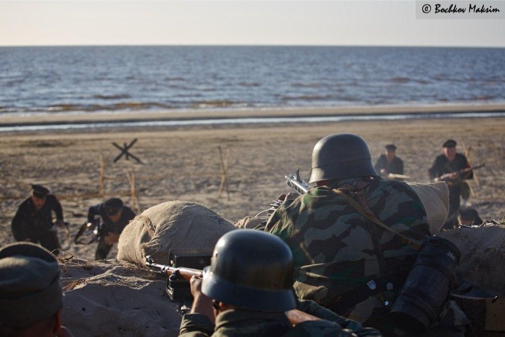 С 25 по 27 июля 2014 годa состоялся четвертый международный военно-исторический фестиваль  «Северодвинский десант IV»:  два фронта»