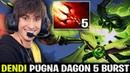 DENDI PUGNA WITH DAGON 5 RUSHING BURST KILL