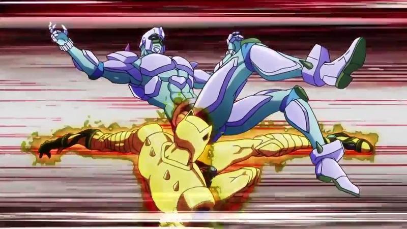 JoJo Part 4 Josuke (Crazy Diamond) vs Kira (Killer Queen)