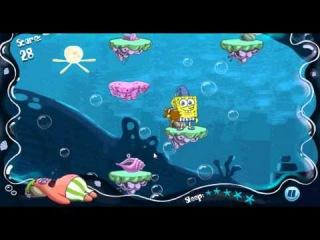 Игра спанч боб прыгает во сне патрика  http://gubkabob.com.ua