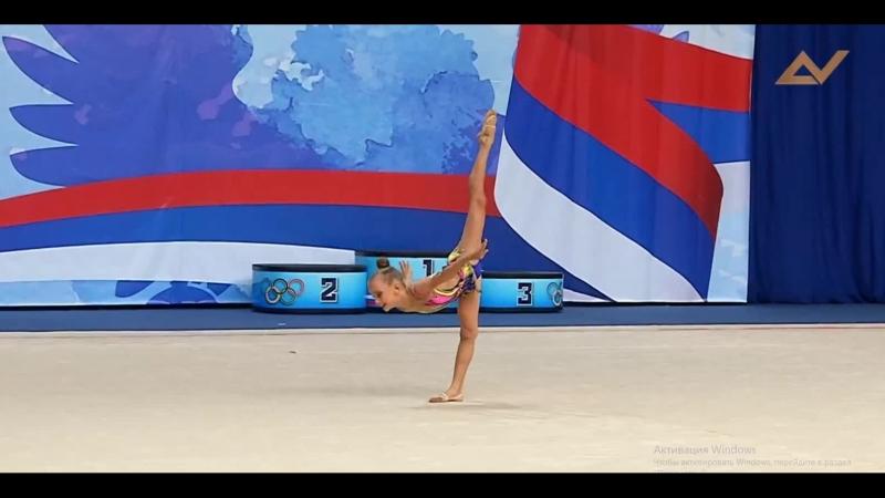 Соревнования по художественной гимнастике ЦС ФСОП «Россия»,Савина Марина,2010г,б/п