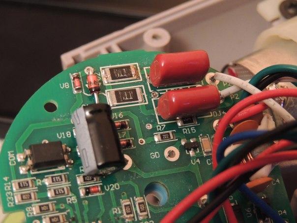 резисторов выкидывать фен