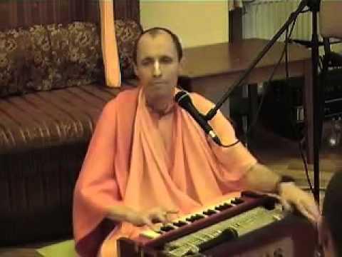 ЕС Бхакти Ананта Кришна Госвами Махарадж - Киртан (04.01.2012)