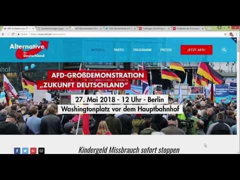 AfD Demo in Berlin am 27 05 passt auf euch auf