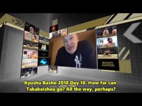 Sumo -Kyushu Basho 2018 Day 10, November 20th -大相九州場所 2018年 10日目