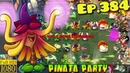 Plants vs Zombies 2 Beautiful LAWN of DOOM Sound and light show Witch Hazel Ep 384