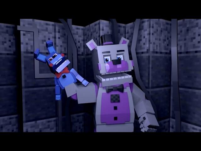 Майнкрафт Анимация - 5 ночей с Фредди смешной мультик (фнаф анимация)