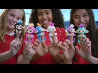 ХИТ! Fingerlings Baby Monkeys