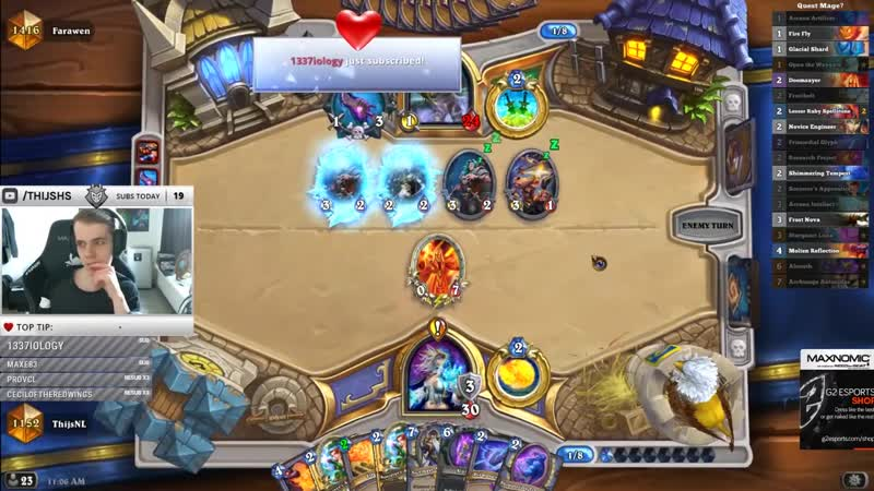 [Thijs Hearthstone] This Is The Hardest Deck To Play Right Now