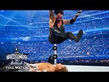 FULL MATCH - The Undertaker vs. Shawn Michaels WrestleMania XXV (WWE Network Exclusive)