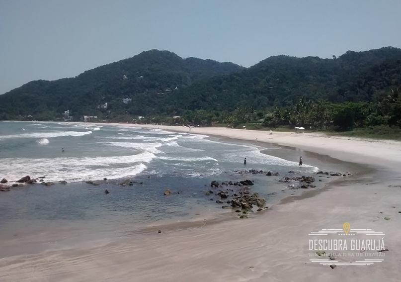 Vista da praia de S#227;o Pedro
