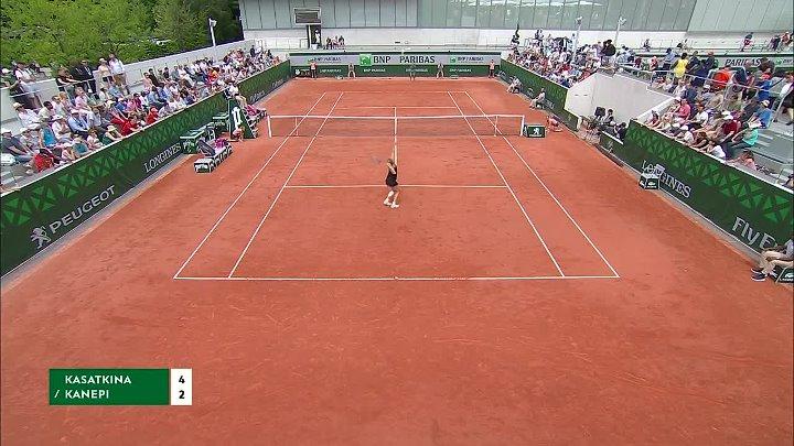 WTA 2018 French Open - 1st Round - Daria Kasatkina vs Kaia Kanepi (28-05-2018)