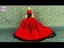 Шьем теплое осеннее платье для куклы барби . How to make dress for Barbie dolls