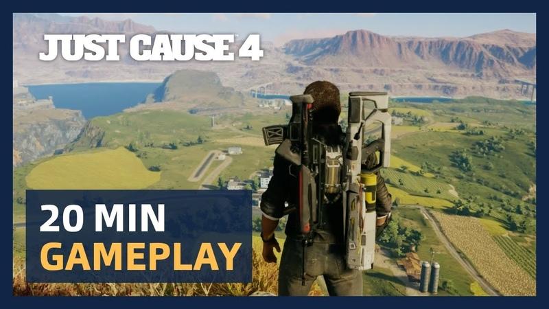 Just Cause 4 20 Minutes Live Gameplay Presentation [ESRB]