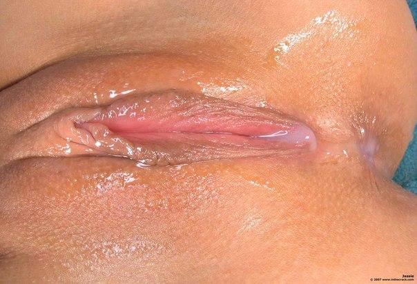 крупное фото мокрой пизды
