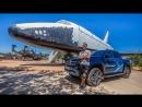 Alexander Kondrashov Встреча и Отправка Космонавтов. Космодром Байконур. Пикап Mercedes-Benz X-Class