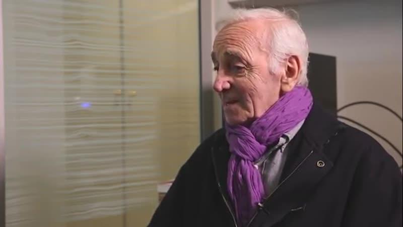 Aznavour, ses secrets alimentaires (1)