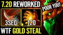 ARTEEZY 1000% IMBA GOLD STEAL New EPIC Bounty Hunter 7.20 META Fun Dota 2 Gameplay EG Stack